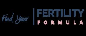 Find Your Fertility Formula font logo